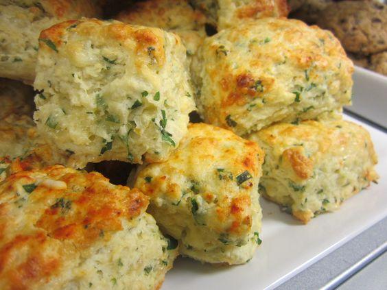 Vegetable scones