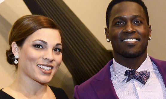 Antonio Brown and Chelsie Kyriss
