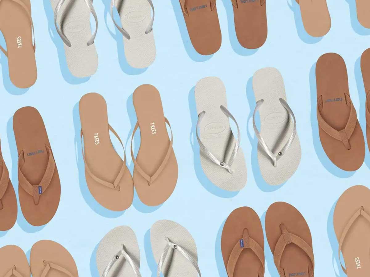 staycation like flip flops