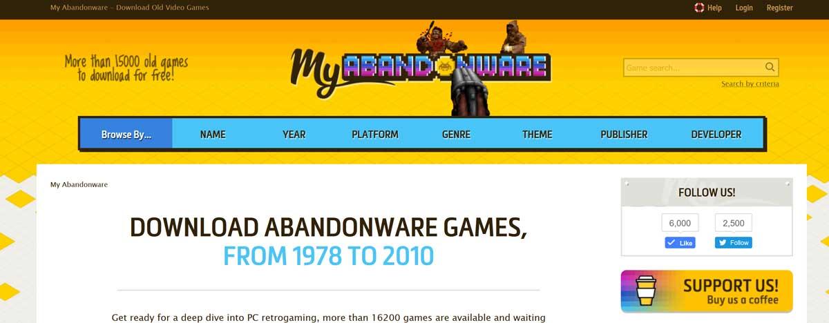 MyAbandonware