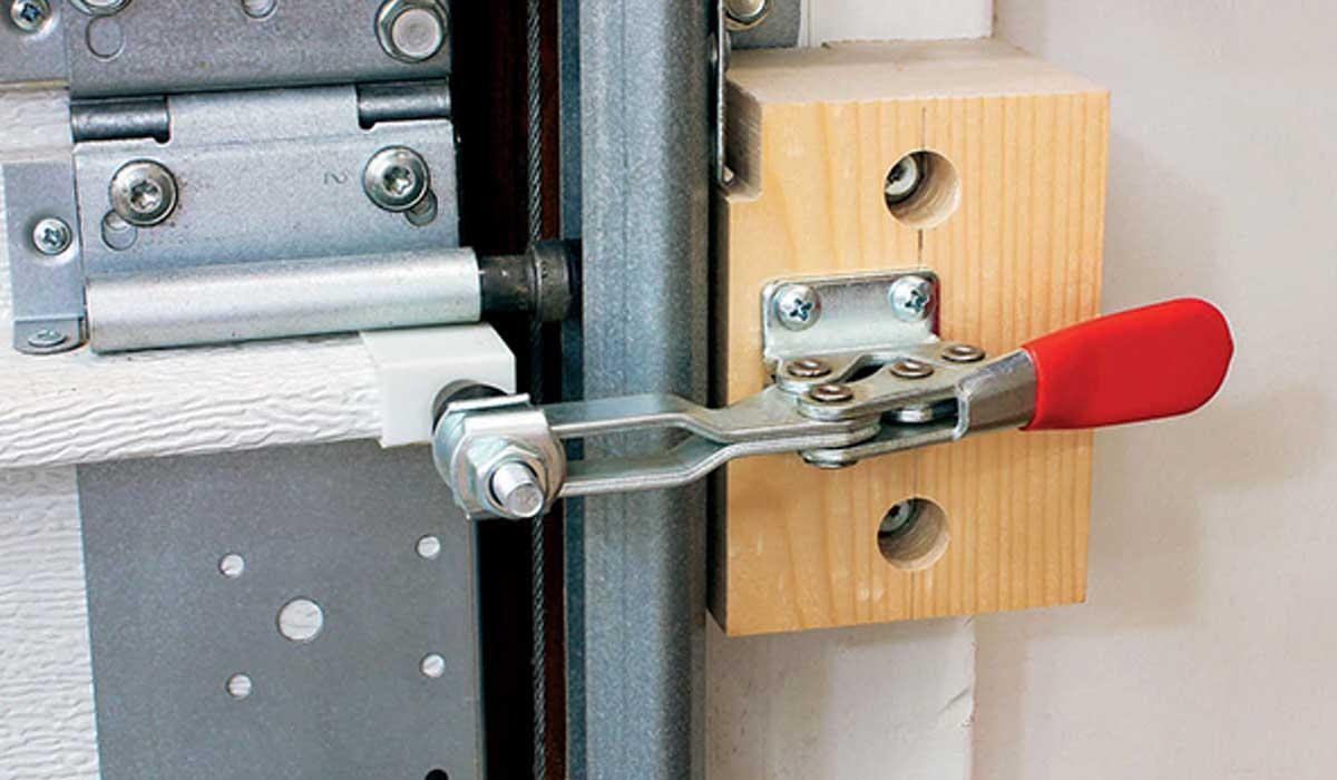 Seal garage doors well