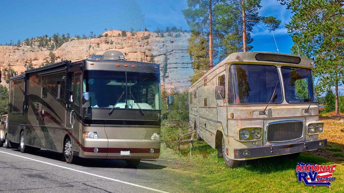 the Choice between a New or a Used RV
