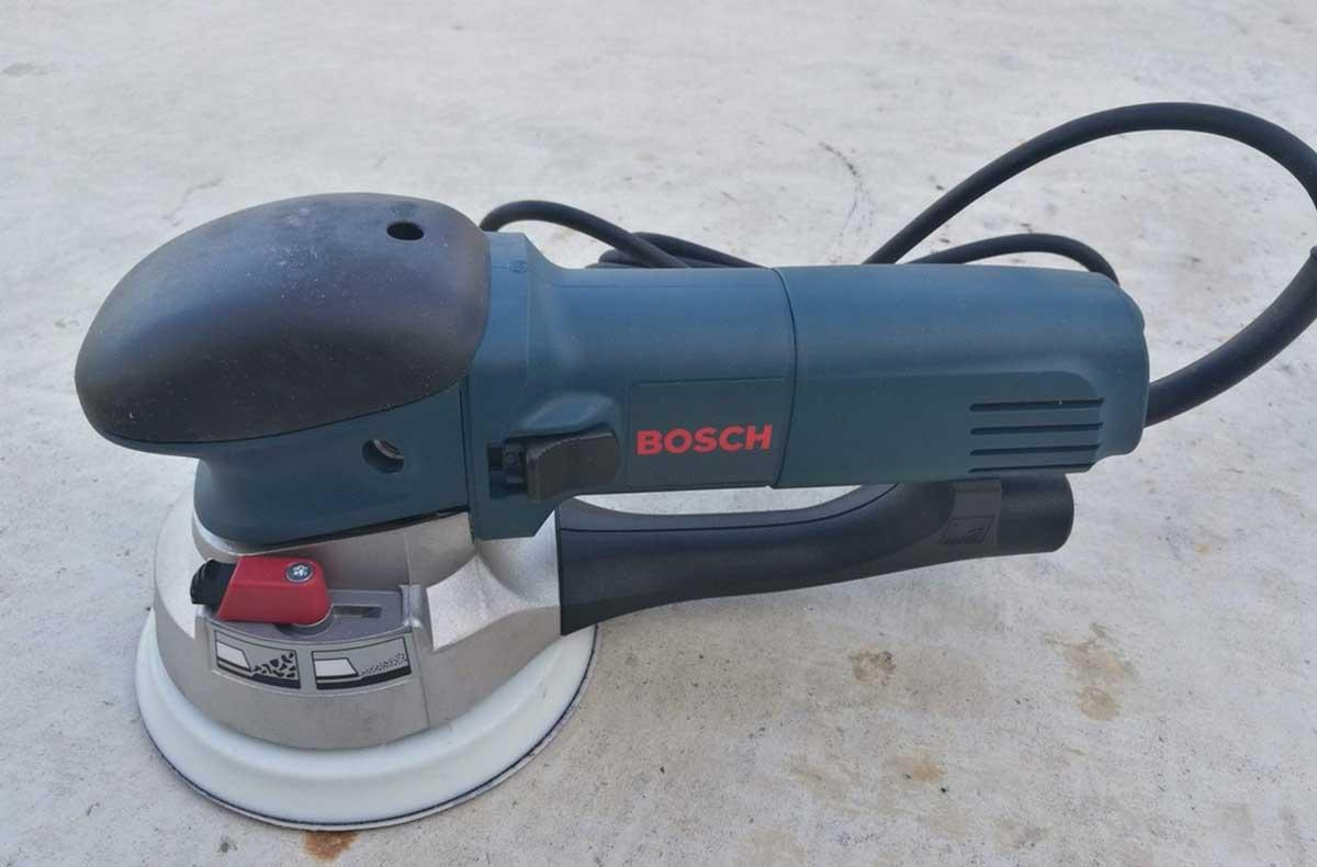 """Bosch 120 V 6"""" Orbita sander"""