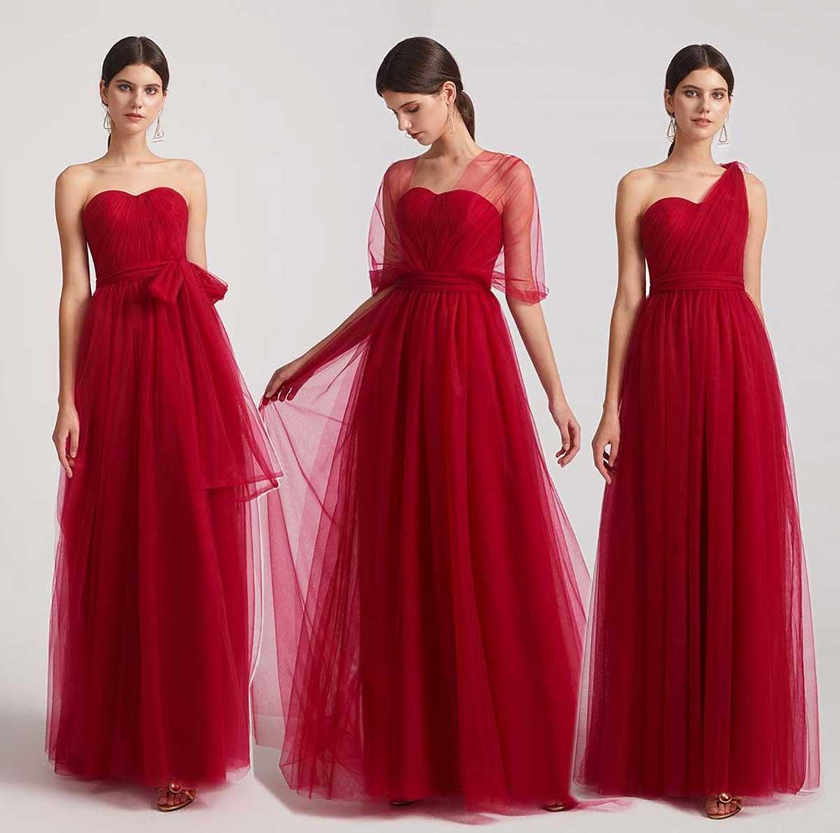 Choose Convertible Bridesmaid Dresses