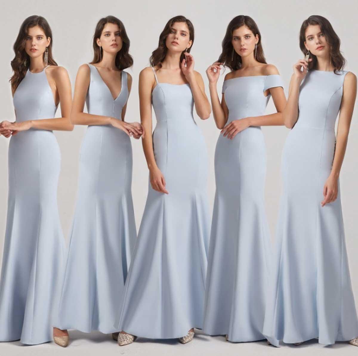 Same color different dress