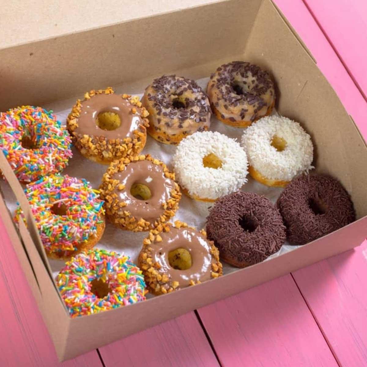 A Doughnut Box