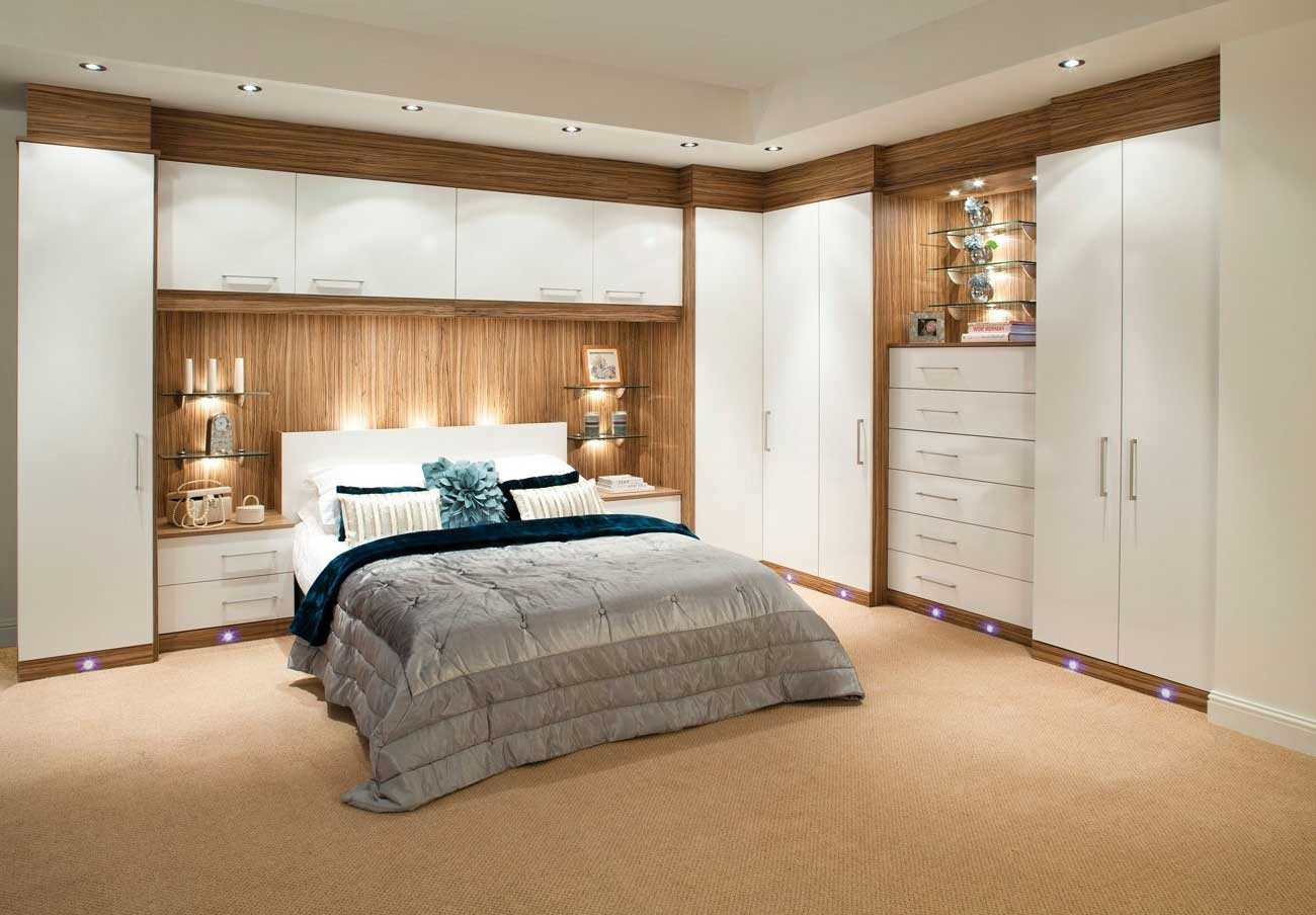 How can I design a fitted bedroom