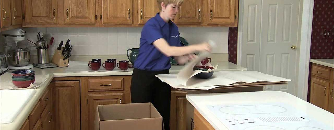 Packing Your Kitchen for Moving House