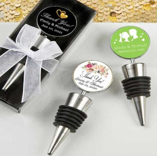 Silver Wine Stoppers