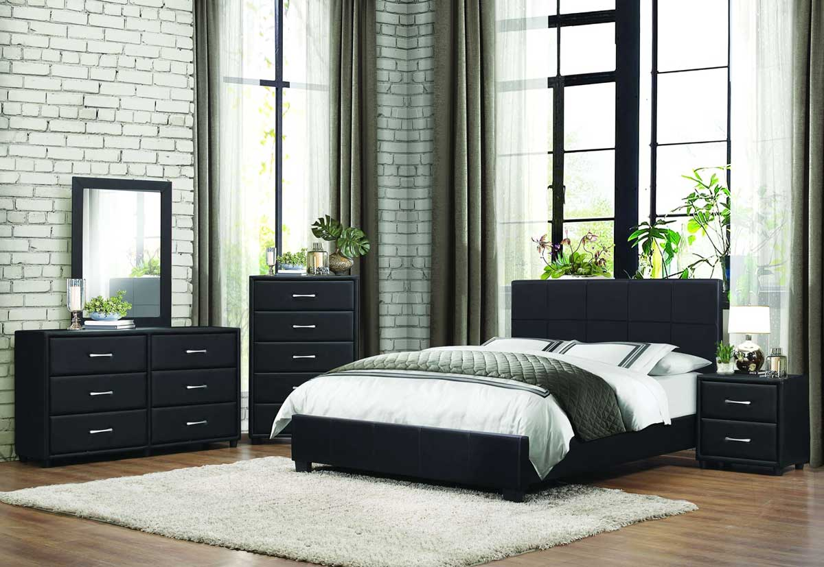 Contemporaneous metal bed design for your bedroom