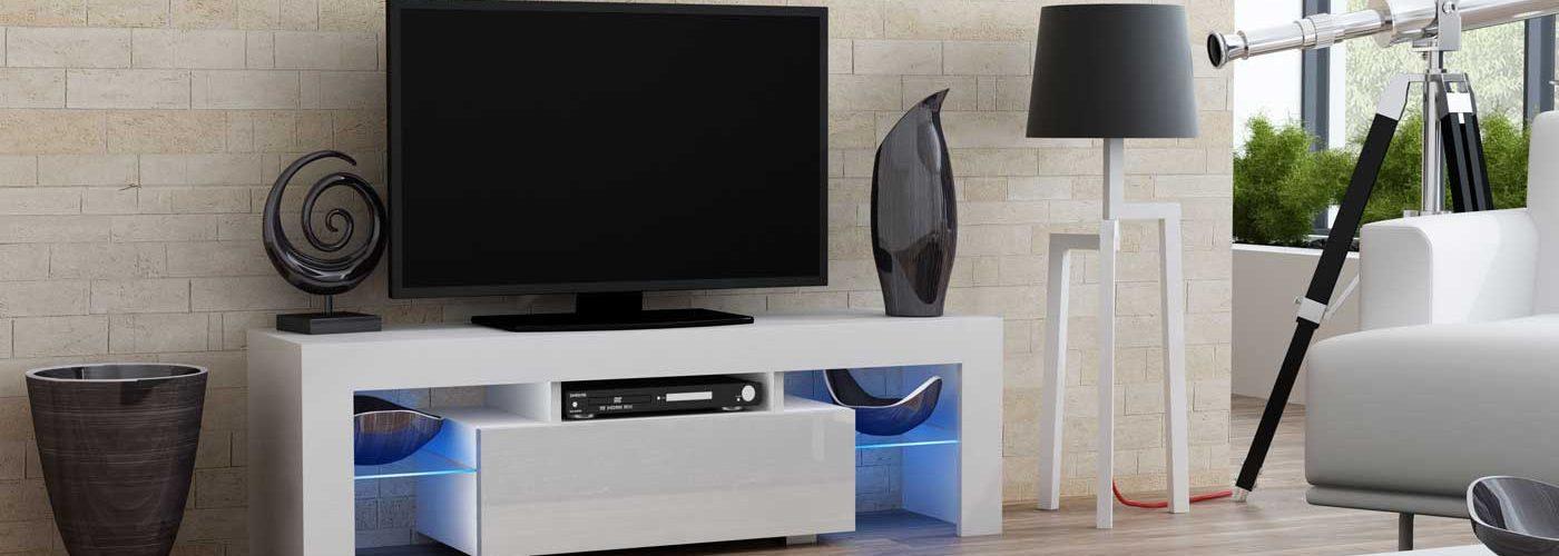 Benefits of White TV Unit