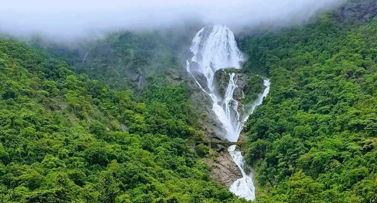 The Paradisiacal Dudhsagar Fall
