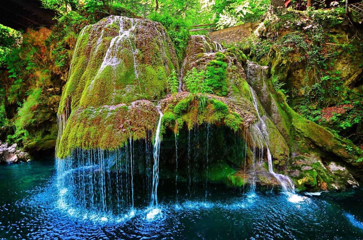 Visit The Unique Waterfall
