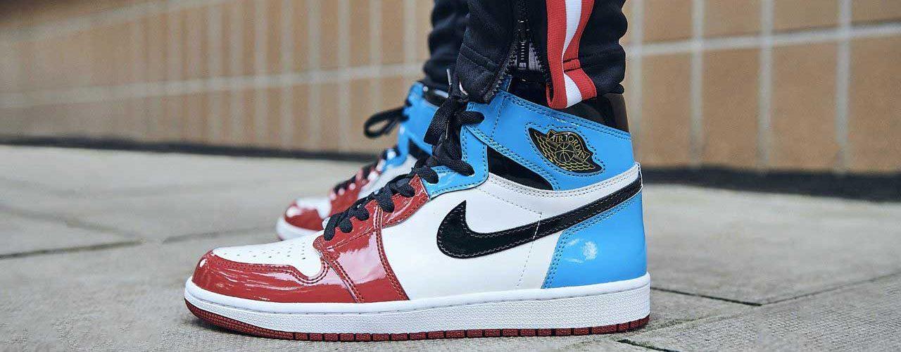 the Air Jordan 1s