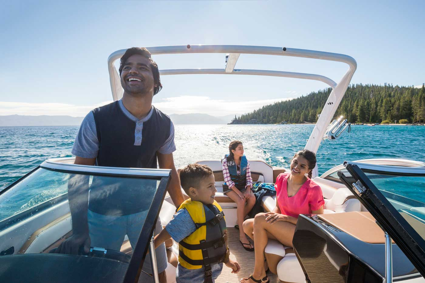 Family Boating Activities Summer