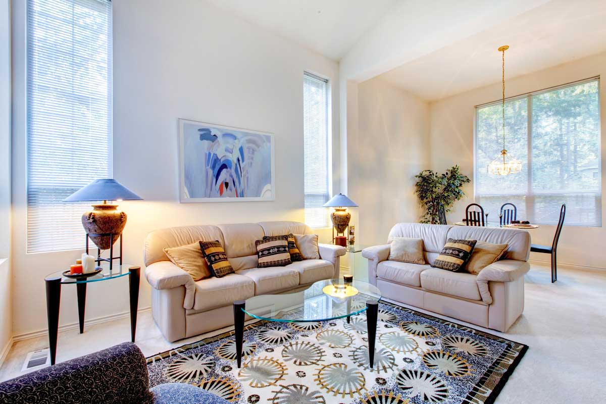 Color Scheme with Area Rugs