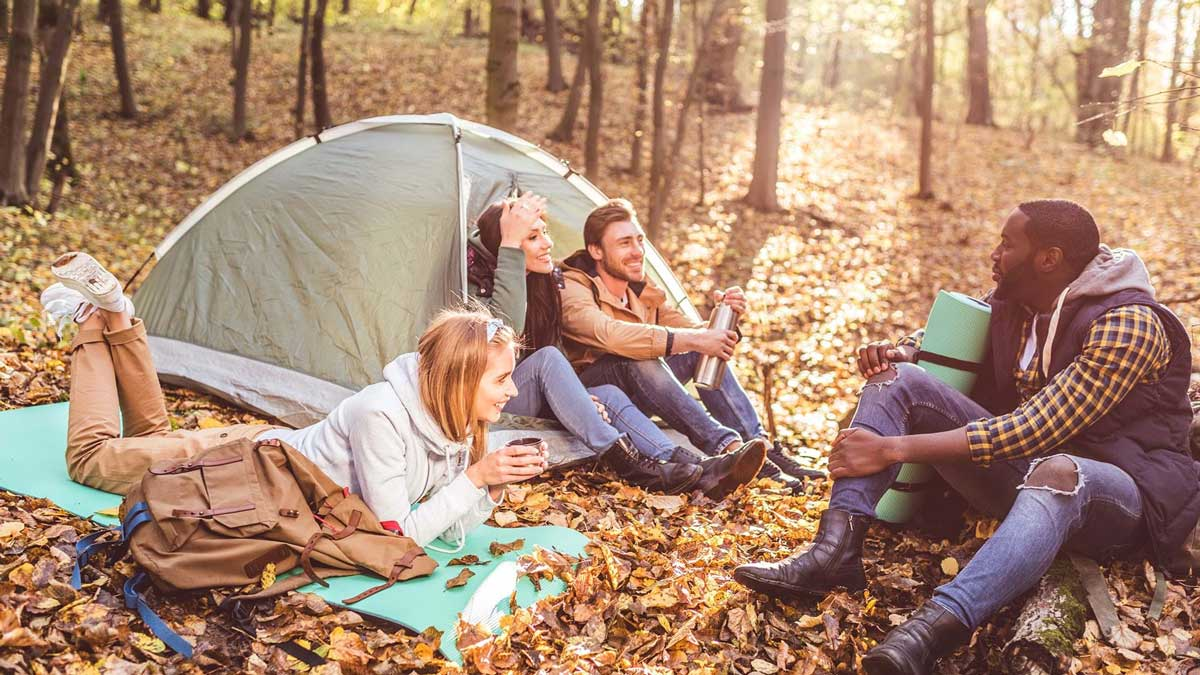 make camping fun