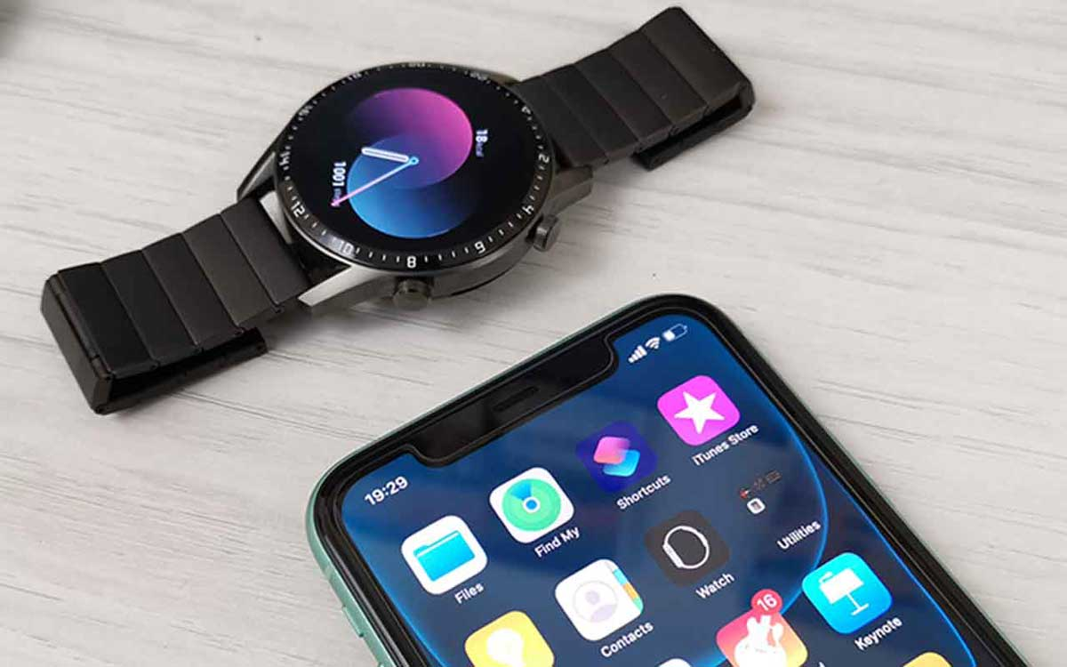 apps to my Huawei watch